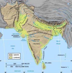 L'histoire de l'Inde, carte, india history, map