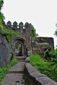 Entrée du fort du Maharashtra
