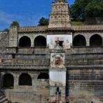 Gomukh temple, Lonar lake, entrance of wildlife sanctuary, entréé de la réserve naturelle