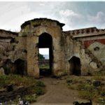 Reste du mur d'enceinte du village