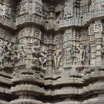 Détails extérieur du temple