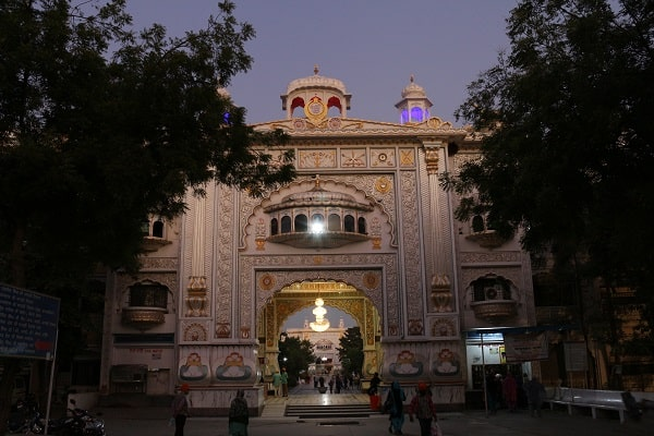 The main gate in Nanded