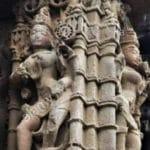 Colonne sculptée, anwa temple
