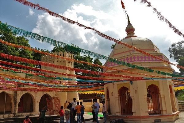 Shendurvada, Ganesh temple