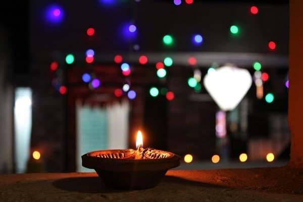 Diwali, la fête des lumière, hindoue